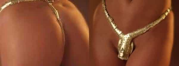 Uwe Koetter Chastity Belt cinto de castidade lingerieUwe Koetter Chastity Belt cinto de castidade lingerie
