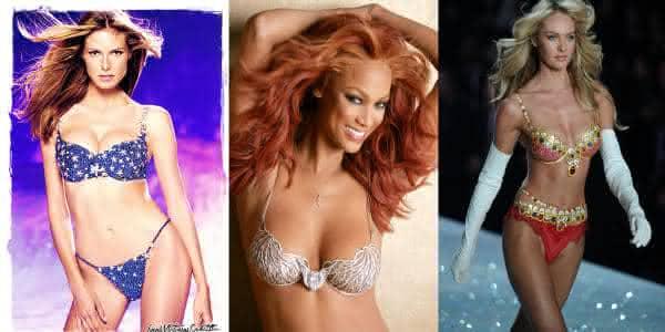 Victorias Secret lingeries milennium star royal heavenly mais caras