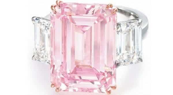 diamante rosa entre os mais caros
