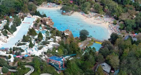 parque aquatico Blizzard Beach usa