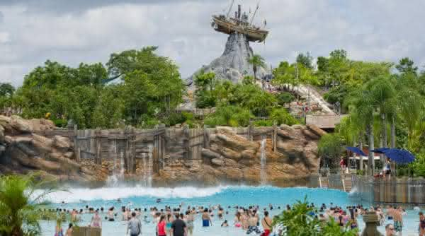 parque aquatico Typhoon Lagoon usa
