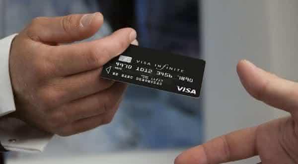 visa infinite cartoes de creditos
