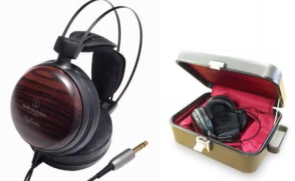 Audio Technica ATH-W5000 entre os mais caros fones de ouvido
