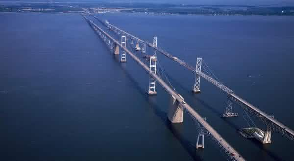 Chesapeake ponte  Maryland entre as pontes mais caras do mundo