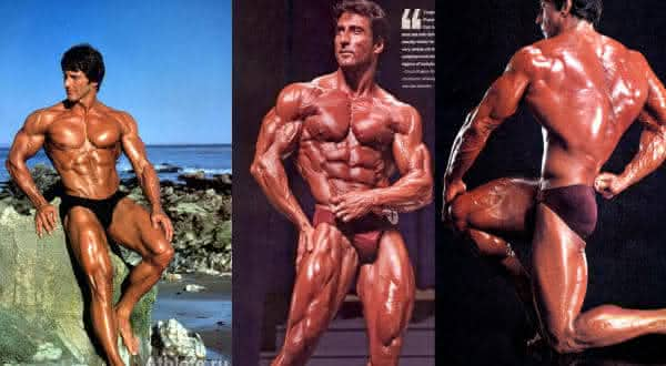 Frank Zane entre os maiores fisiculturista do mundo