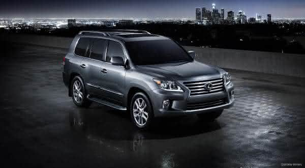 Lexus LX 570 entre os SUV mais caros do mercado