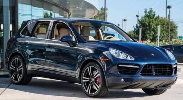 Porsche Cayenne Turbo-S  carros SUV mais caros