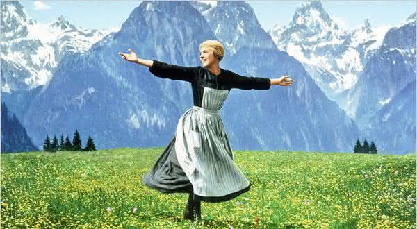 The Sound of Music entre os filmes de maiores sucessos