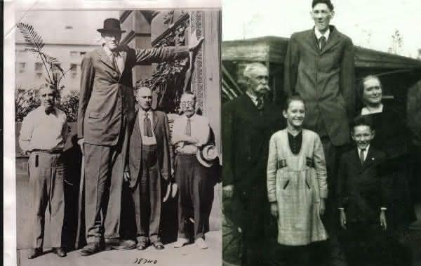 Bernard Coyne um dos homens mais altos