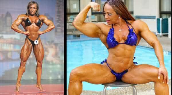 Betty Viana-Adkins entre as melhores fisiculturistas mulher do mundo