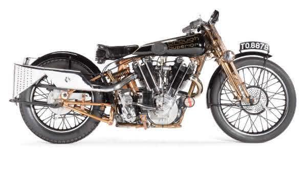 Brough Superior SS-100 1929 motos mais valiosas