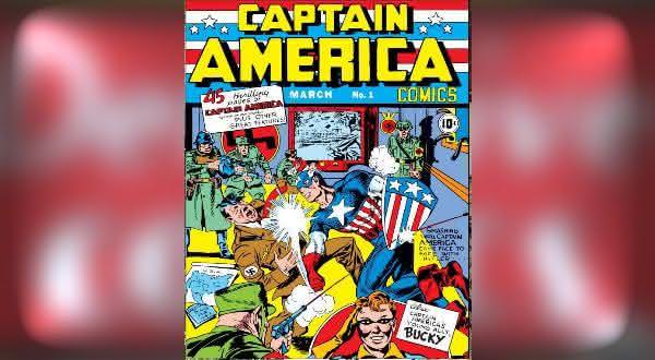 Captain America 1 1941 entre os hqs mais valiosos