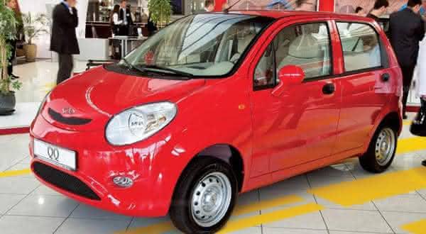 Chery IQ  um dos carros mais baratos do mundo