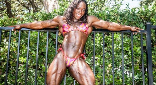 Heather Foster entre as maiores fisiculturistas femininas do mundo