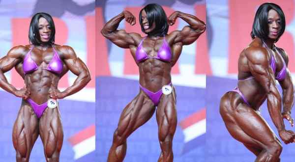 Iris Kyle a melhor fisiculturista feminina do mundo