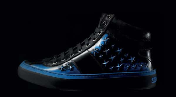 Jimmy Choo Belgravia High Tops  Star Studded entre os tenis mais valiosos