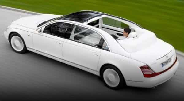 Maybach Landaulet entre as limousines mais caras