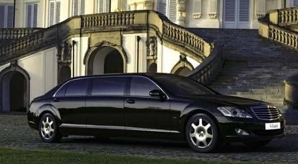 Mercedes-Benz S-600 Pullman uma das limousines mais caras