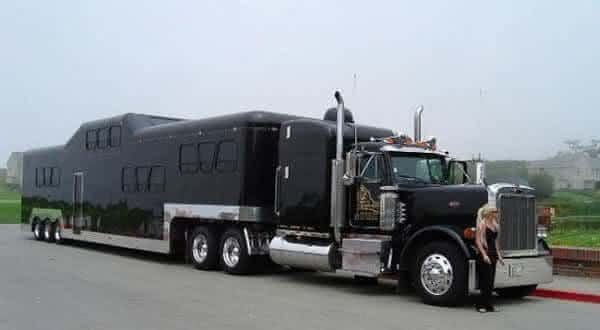 The Midnight Rider limousine