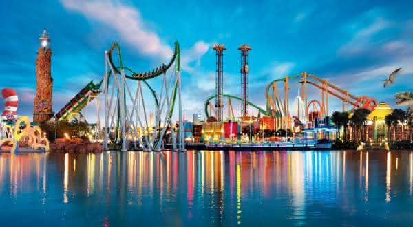 Universals Islands of Adventures Orlando entre os melhores parques tematicos