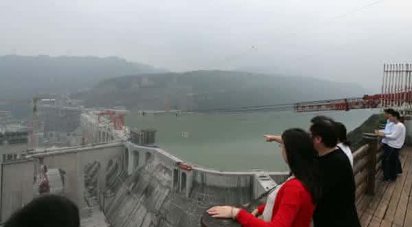 Xiangjiaba hydroelectric entre as maiores hidreletricas do mundo