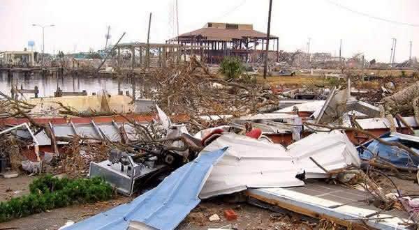 furacao catrina entre os maiores desastres naturais do mundo