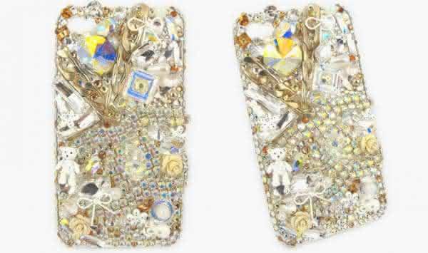 Cobertura de Cristal Swarovski entre as capas de iphone mais caras do mundo