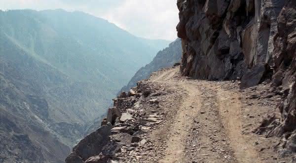 Fairy Meadows uma das estradas mais perigosas do mundo