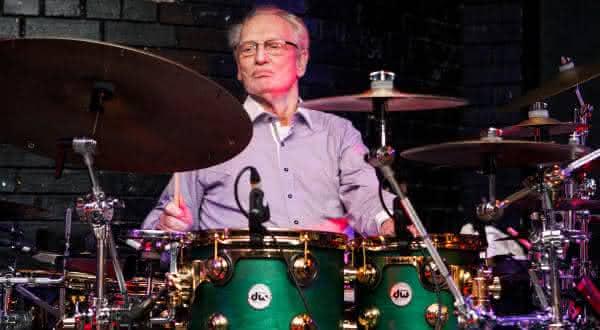 Ginger Baker entre os melhores bateristas do mundo