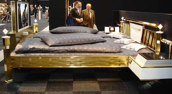 Jado Steel Style Gold entre as camas mais caras do mundo