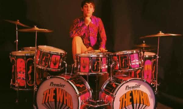 Keith Moon  entre os maiores bateristas da historia