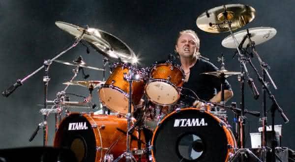 Lars Ulrich entre os maiores bateristas da historia