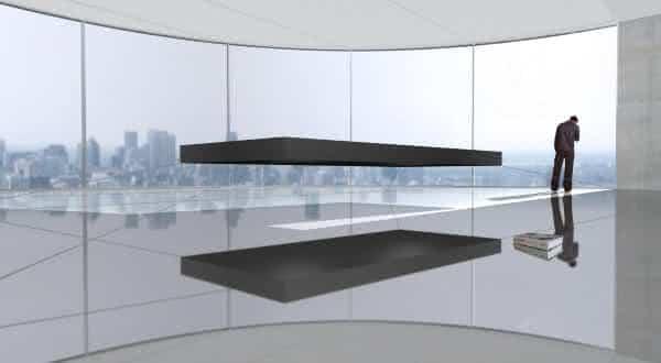 Magnetic Floating Bed entre as camas mais caras do mundo
