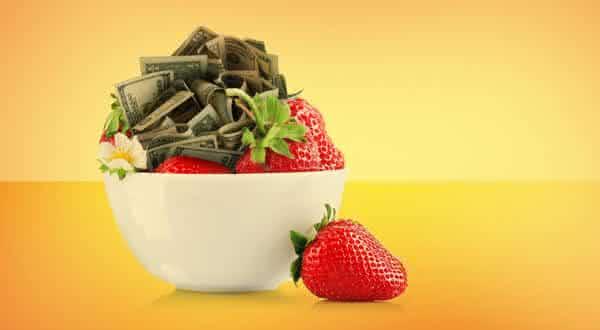 Morangos Senbikiya Queen entre as frutas mais caras do mundo
