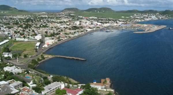Sao Cristovao e Nevis entre os menores paises do mundo