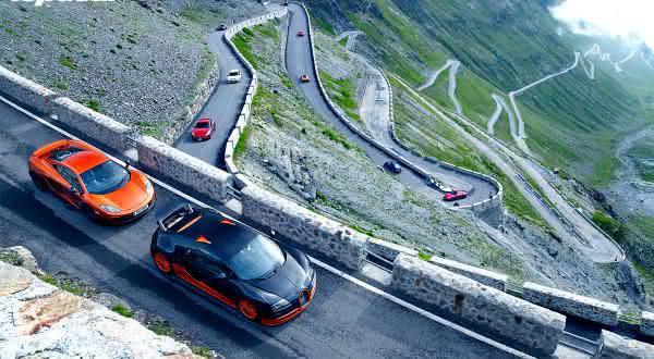 Stelvio Pass uma das estradas mais perigosas do mundo