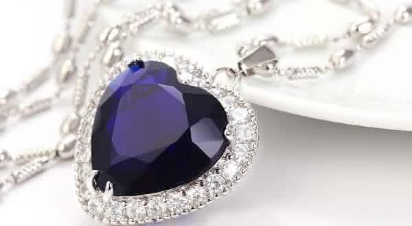 Titanic Heart de Diamante Oceano entre os colares mais caros do mundo
