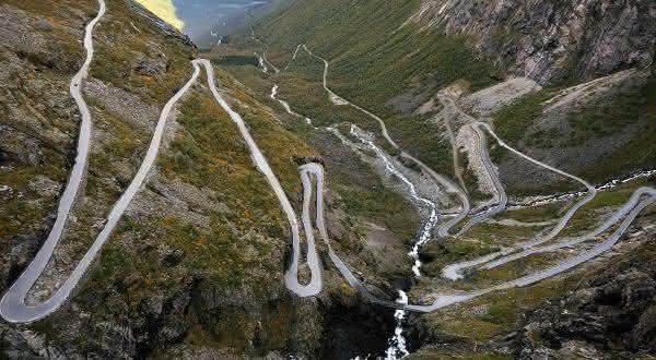 trollstigen uma das estradas mais perigosas do mundo
