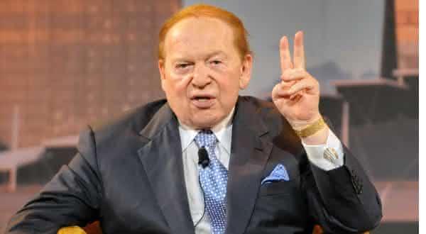 Sheldon Adelson entre os bilionarios que nao terminaram a universidade