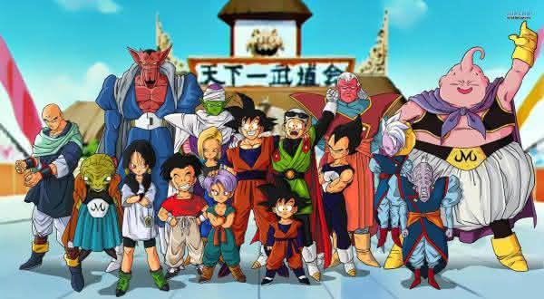dragon ballz entre os melhores animes de todos os tempos