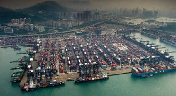 hong kong entre os maiores portos do mundo