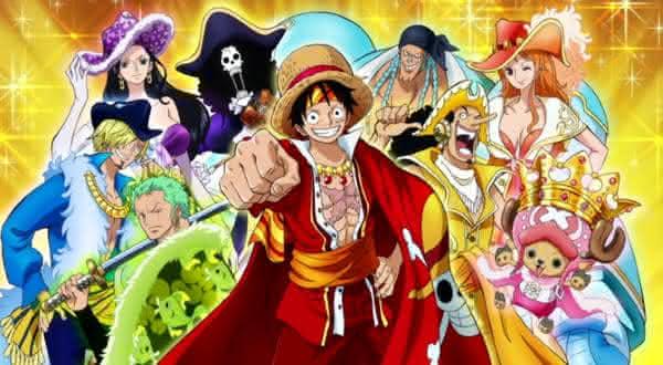 one piece entre os melhores animes de todos os tempos