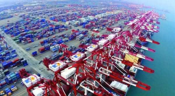 qingdao entre os maiores portos do mundo