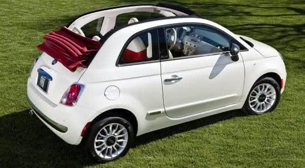 Fiat 500C Pop entre os carros conversiveis mais baratos do mundo