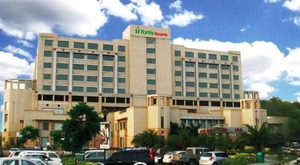 Fortis Hospital Bangalore Karnataka entre os melhores hospitais do mundo