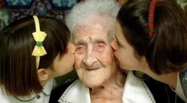Jeanne Calment entre as pessoas mais longa vida na historia