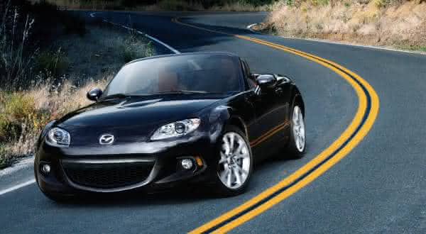 Mazda MX-5 Miata Sport entre os carros conversiveis mais baratos do mundo