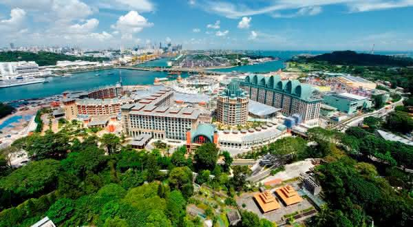 Resorts World Sentosa entre os edificios mais caros do mundo