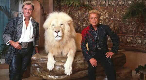 Siegfried e Roy entre os melhores magicos do mundo