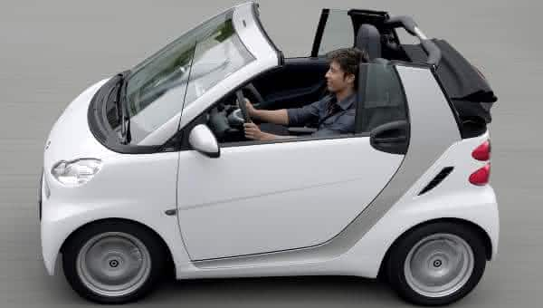 Smart ForTwo Passion Cabriolet entre os carros conversiveis mais baratos do mundo